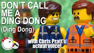 Rex Dangervest in 'Don't Call me a Ding Dong' CHRIS PRATT's real voice! The LEGO Movie 2 w/ Starlord