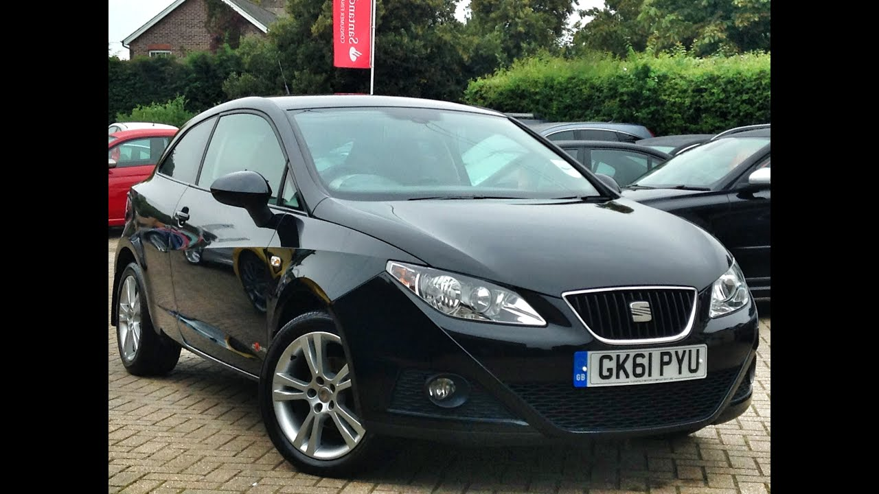 seat ibiza 1 4 se copa 3dr for sale at cmc cars near brighton sussex youtube. Black Bedroom Furniture Sets. Home Design Ideas