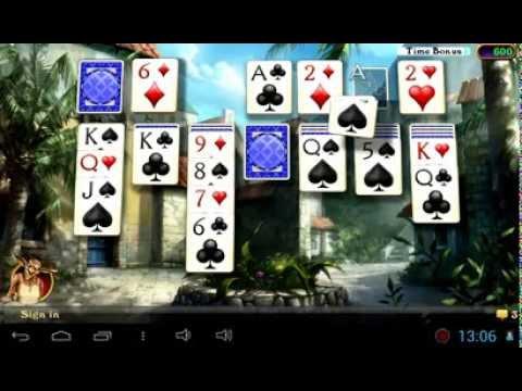 Обзор игры ** HW Solitaire (карты, пасьянсы) **  для Андроид
