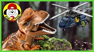 LEGO Jurassic World 2 Fallen Kingdom Dinosaur Toys COMPILATION (Treasure Hunt, Time Lapse, Volcano)
