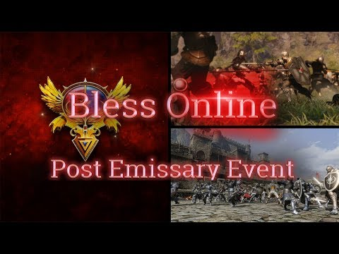 Bless Online 💻Emissary Event Post Q&A (News Update 5/13/2018) - (Community, Impressions, Combat)