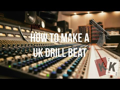 Making A UK Drill Beat Tutorial 2018 (G Herbo, Zone 2, Skengdo & AM, Moscow Type Beat)   JiNX