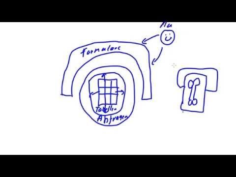 Datenbanken mit Microsoft Access 1 - Datenbanken Grundlagen, Access Bausteine