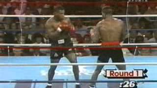 Boxing] Mike Tyson vs  Alfonso Ratliff 860906