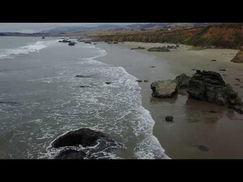 Pacific Coastline by Drone | San Simeon | California | Dronography