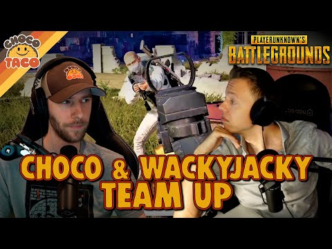 FINALLY chocoTaco and WackyJacky Join Forces - PUBG Duos Gameplay