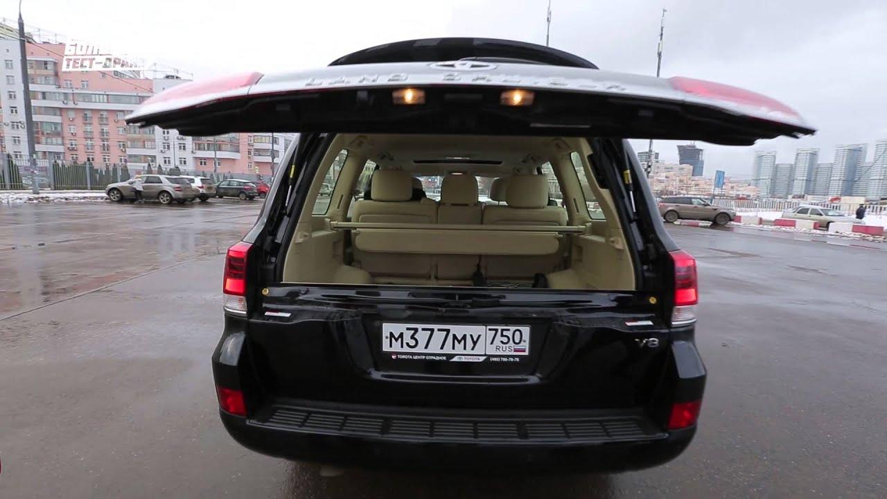 New <b>Toyota</b> Land Cruiser 200 2016 V8 - Большой тест-драйв / Big ...