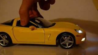 chevrolet corvette 2005 1 18 bodylight led xenon model