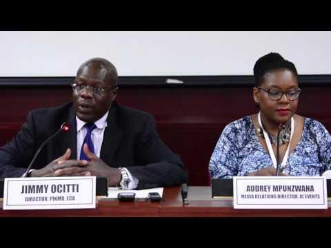 ECA's Press Briefing on African Development Week 2016