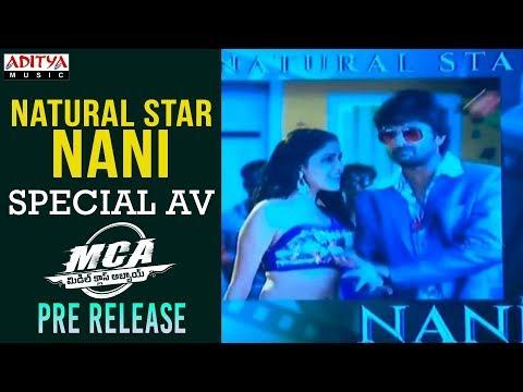 Hero Nani Special AV @ MCA Pre Release Event|| Nani, Sai Pallavi || DSP