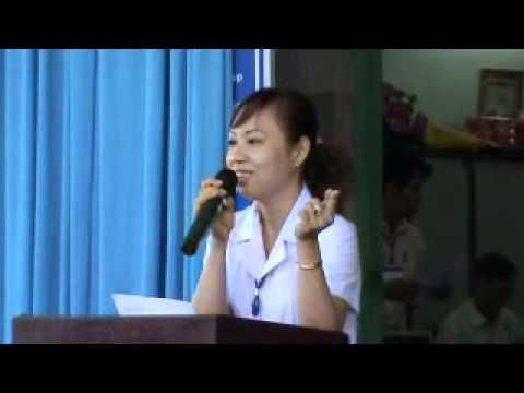 TRUONG THCS AN NHON SINH HOẠT DƯỚI CỜ TUẦN 16