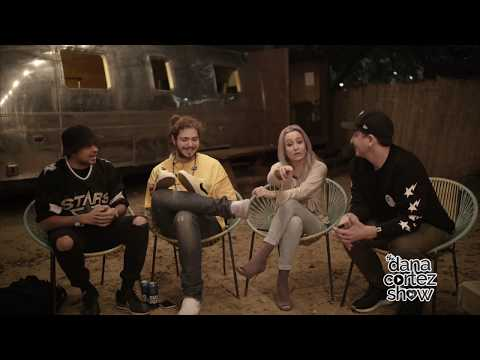 Post Malone Responds to Lil B and Are Rappers The New Rockstars | Dana Cortez Show