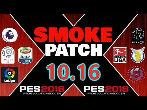 SMOKE PATCH 10.16  DOWNLOAD PES 2018 PC