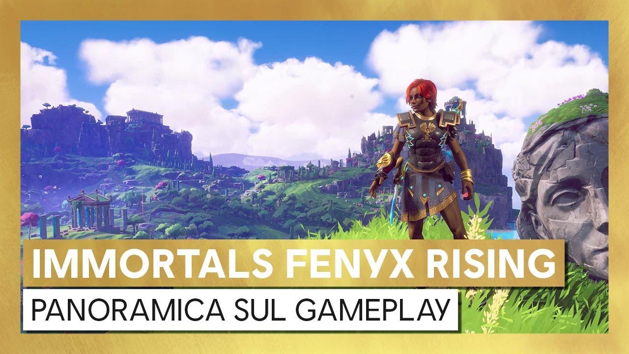 Immortals Fenyx Rising: Panoramica sul Gameplay