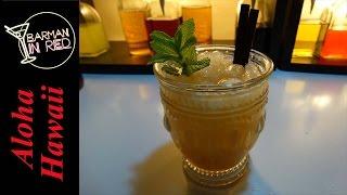 Como Hacer El Coctel Aloha Hawaii - Bebidas Con Ron
