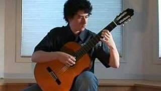 Study in D - Fernando Sor (Classical Guitar ) by Jesse Liang Music
