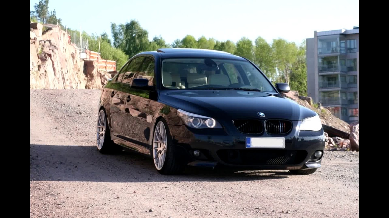 bmw e60 535d m sport diesel straight pipe cold start youtube