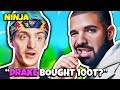Ninja Reacts To Drake BUYING Fortnite eSports Team 100 Thieves | Fortnite Daily Funny Moments Ep.235