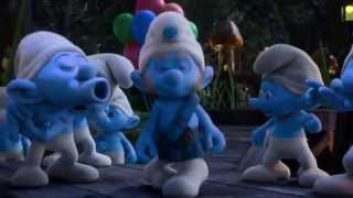 """LOS PITUFOS 2 videoclip """"oh lalala"""""""