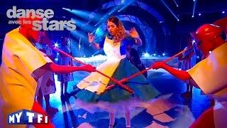 DALS S06 - EnjoyPhoenix et Yann Alrick Mortreuil dansent un foxtrot sur ''Alice's Theme