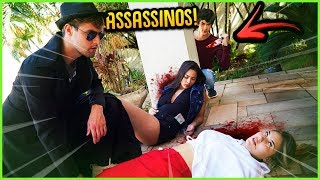 ASSASSINOS: DESCUBRA O ASSASSINO!! ( MINI GAME NOVO ) [ REZENDE EVIL ]