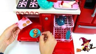 Cocinita de Juguetes con Muchísimos Accesorios de Cocina thumbnail
