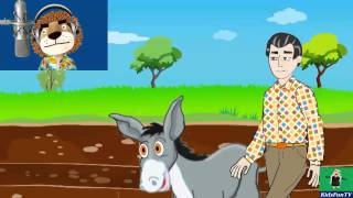 Inky Pinky Ponky, Father Had A Donkey | Counting-Out Nursery Rhymes & Lyrics From UK - KidsFunTV