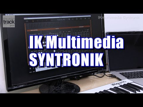 IK Multimedia SYNTRONIK Demo & Review