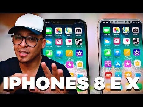 SERÁ QUE O IPHONE X É O MELHOR SMARTPHONE HOJE? IPHONE 8 ZOADO?