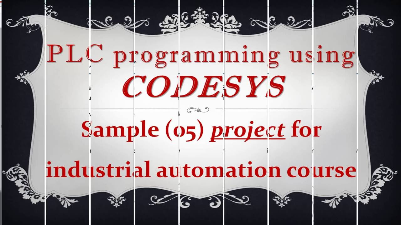 CODESYS: Sample (05) project for the industrial automation course (simulation of Elevator)