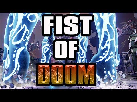 Borderlands 3 Fist Of Doom Amara! BEST Eternal Fist Amara+Game Sav |