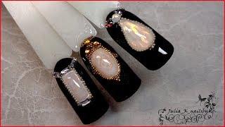 гель жидкие камни на ногтях как сделать