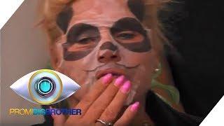 Wie ein schlechter Zirkus - Tiergesichts-Masken | Tag 9 | Promi Big Brother 2018 | SAT.1
