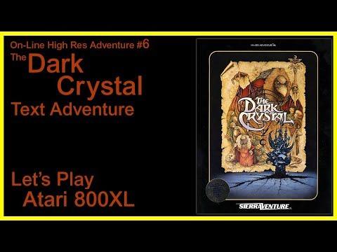 Dark Crystal [Atari 800 XL] - Full Solution