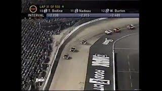 Sharpie 500 | NASCAR Winston Cup | Bristol Motor Speedway | 08/25/2001