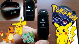 Mİ BAND 3 CUSTOM FİRMWARE ( Pokemon go THEME )
