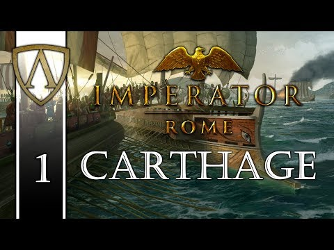 Let's Play Imperator: ROME -- Carthage -- Part 1