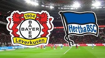 Bayer 04 Leverkusen - Hertha BSC [Saison 2019/2020] | Impressionen
