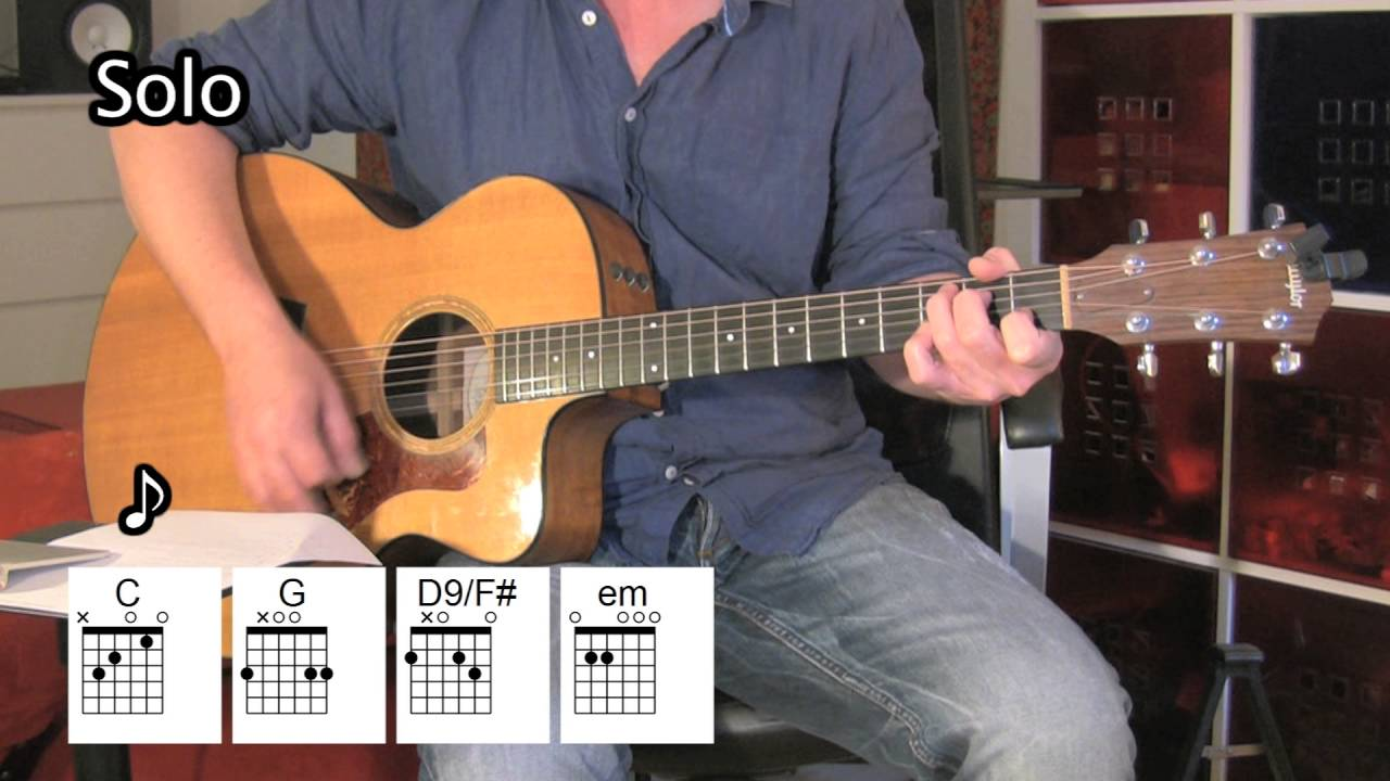 The River Acoustic Guitar Chords Bruce Springsteen Youtube