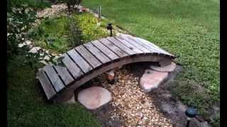 Garden Bridge With Free Plans