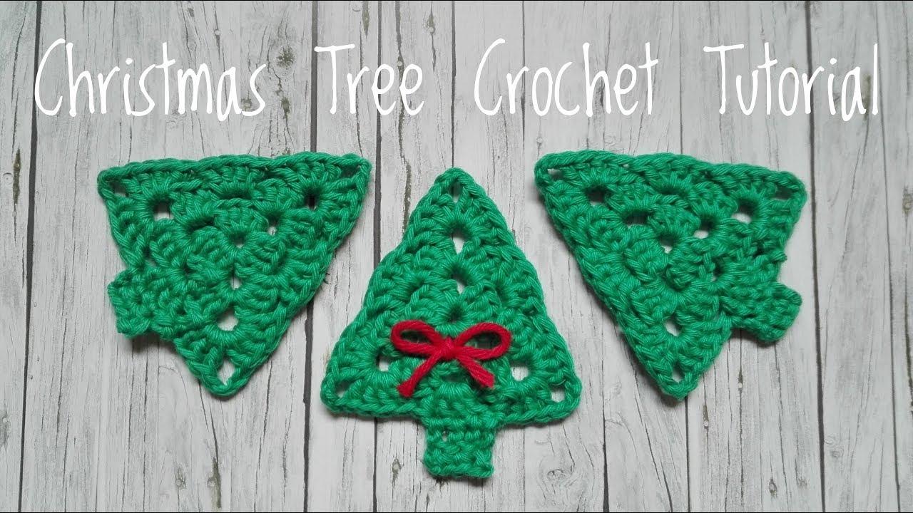 Christmas Tree Crochet Tutorial Weihnachtsbaum Häkeln Anleitung