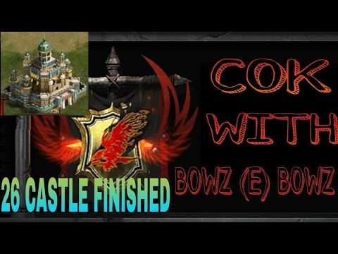 CLASH OF KINGS 26 CASTLE FINISHED