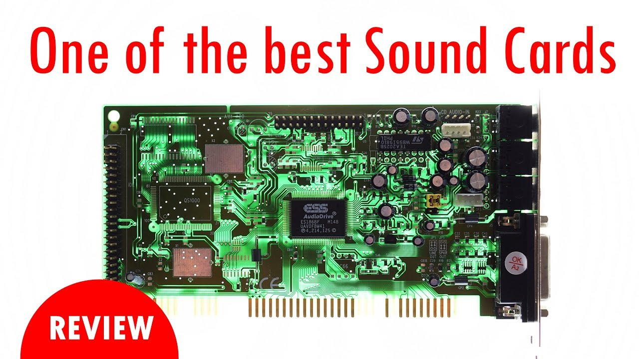 ESS Sound Card ES1868 Windows 8 Drivers Download (2019)