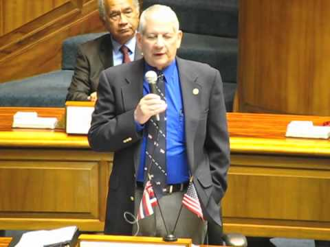 Senator Sam Slom - Floor Speech 2-10-2011