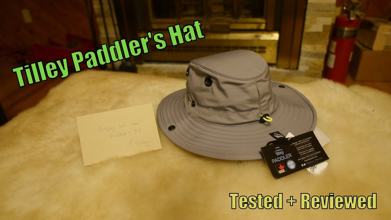 08cb005ce5c Tilley Paddlers Hat Tested + Reviewed - YouTube