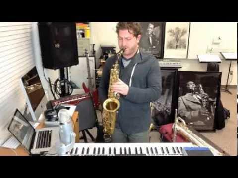 Multi-instrumentalist Russell Kirk loops 5 over 4