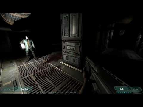 Doom 3 Walkthrough Part 10 HD - Level 6, Alpha Labs Sector 2
