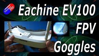 RC Review: £120 Eachine EV100 FPV Goggles