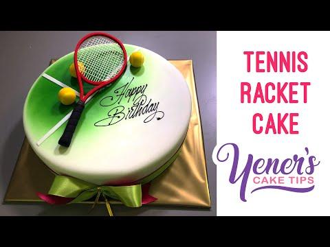 TENNIS RACKET CAKE Tutorial | Yeners Cake Tips with Serdar Yener from Yeners Way