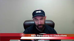 CPA Exam: REG Partnership K-1 Deductions   Another71.com